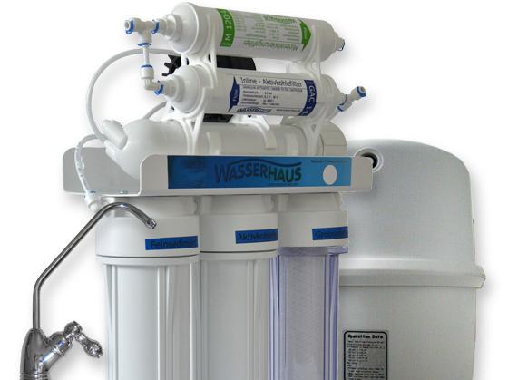 Umkehrosmoseanlage QuaRo PLUS Eco - das Optimum an Trinkwasser